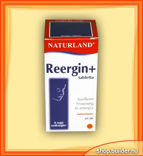 Naturland Reergin Plus 60 tab.