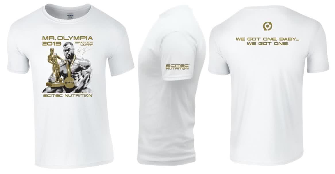 Scitec Nutrition Brandon Mr.Olympia 2019 T-Shirt
