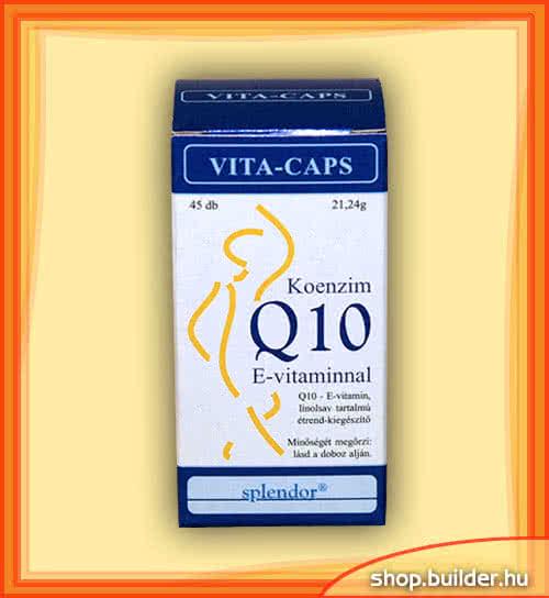 Splendor Q-10 with Vitamin-E 45 caps.