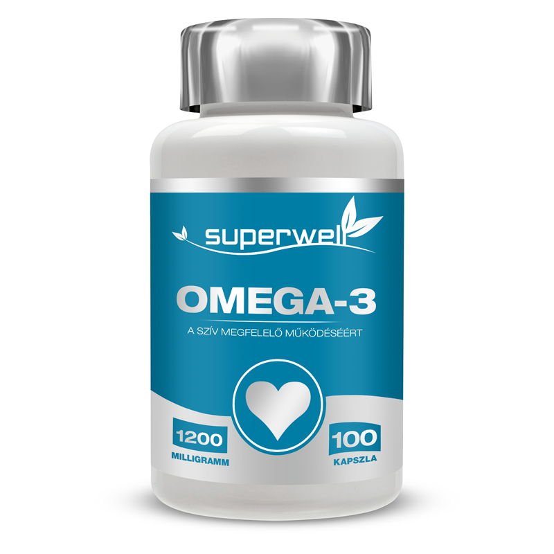Superwell Omega 3 100 caps.