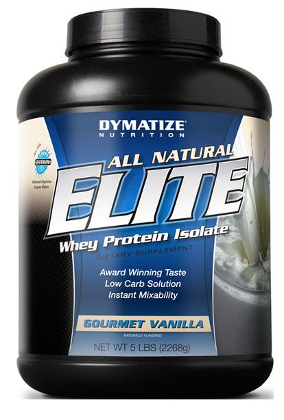 Dymatize All Natural Elite Whey 2,268 kg
