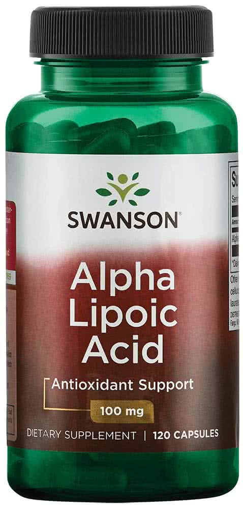 Swanson Alpha Lipoic Acid 120 caps.
