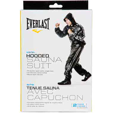Everlast Super Sweat Hooded Sauna Suit