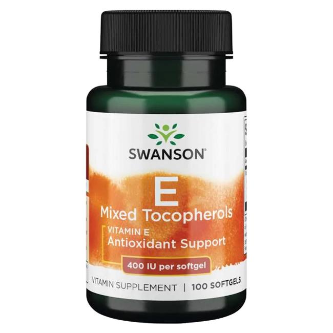 Swanson Vitamin E Mixed Tocopherols 200 IU 100 g.k.