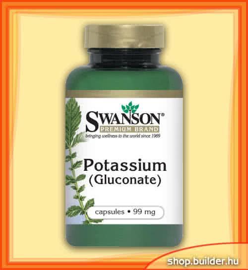 Swanson Potassium Gluconate 100 caps.