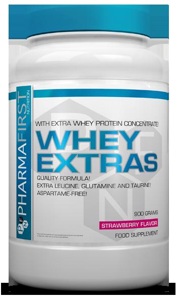 Pharma First Whey Extras 0,9 kg