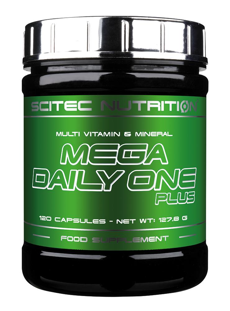 Scitec Nutrition Mega Daily One Plus 120 caps.