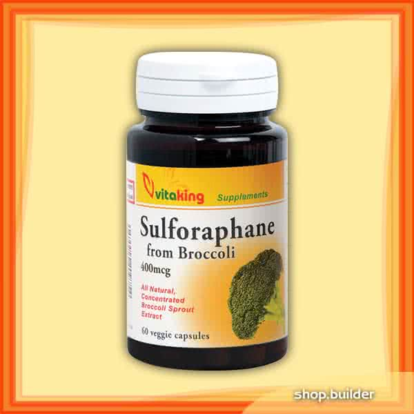 VitaKing Sulforaphane from Broccoli 60 caps.