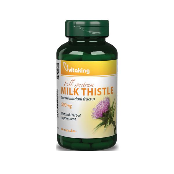 VitaKing Milk Thistle 80 caps.