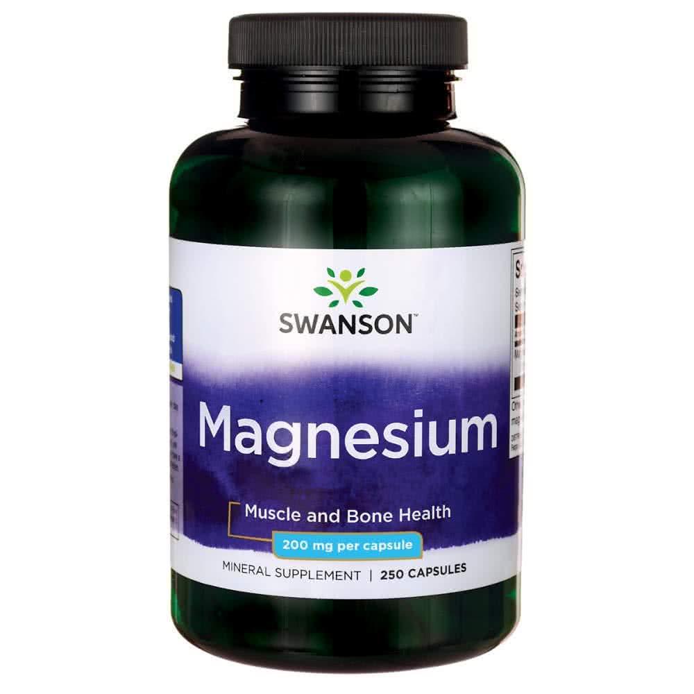 Swanson Magnesium 250 caps.