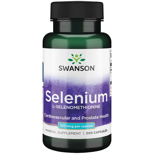 Swanson Selenium 200 caps.
