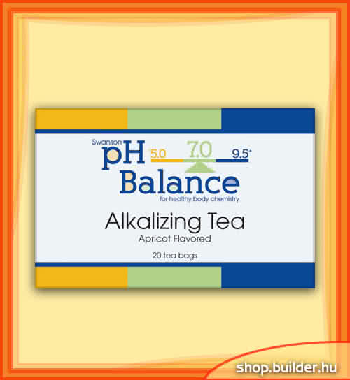 Swanson Alkalizing Tea 20 pachet