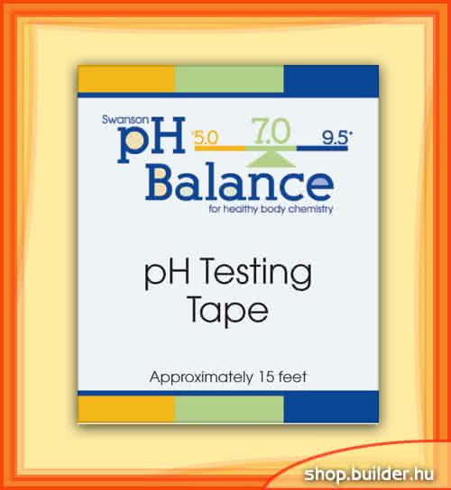 Swanson pH Testing Tape with Dispenser 4,5 m