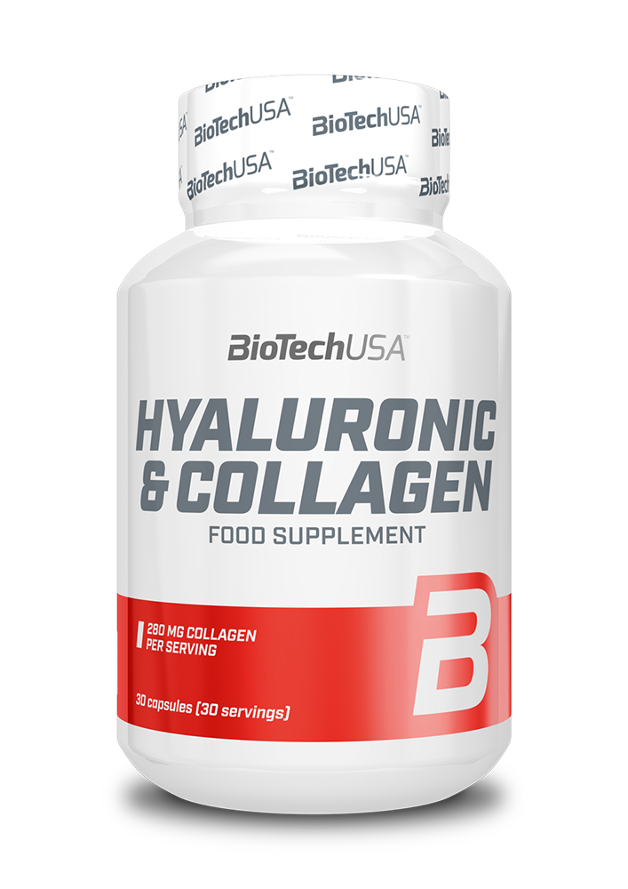 BioTech USA Hyaluronic & Collagen 30 caps.