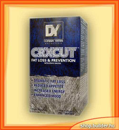 Dorian Yates Nutrition CRXCUT™ 120 caps.
