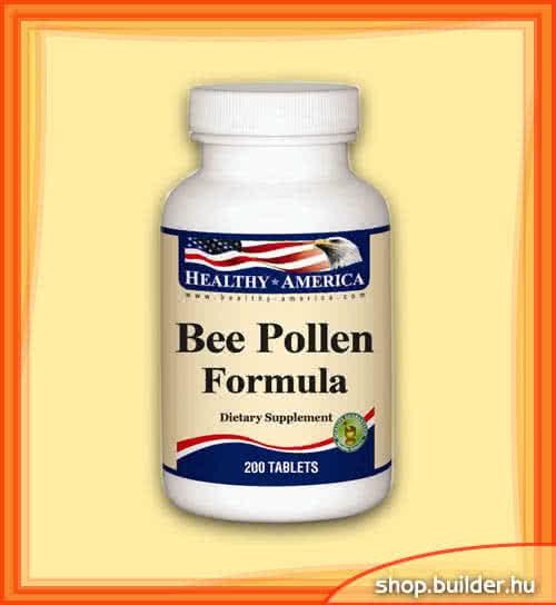 Healthy America Bee Pollen Formula 200 tab.