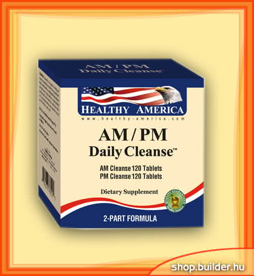 Healthy America AM/PM Daily Cleanse 240 tab.