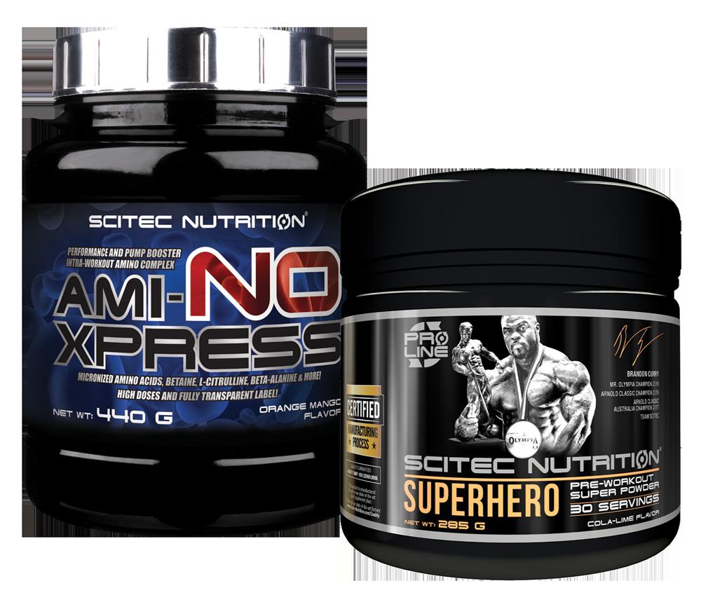 Scitec Nutrition Superhero + Ami-NO Xpress