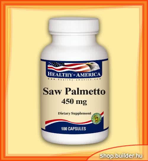 Healthy America Saw Palmetto 100 caps.