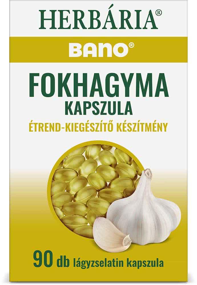 Bano Bano Garlic Caps 90 caps.