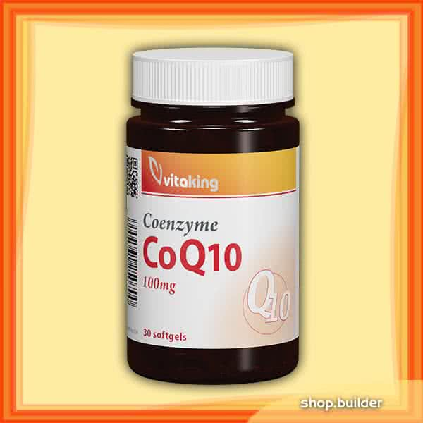 VitaKing Coenzyme Q10 30 caps.