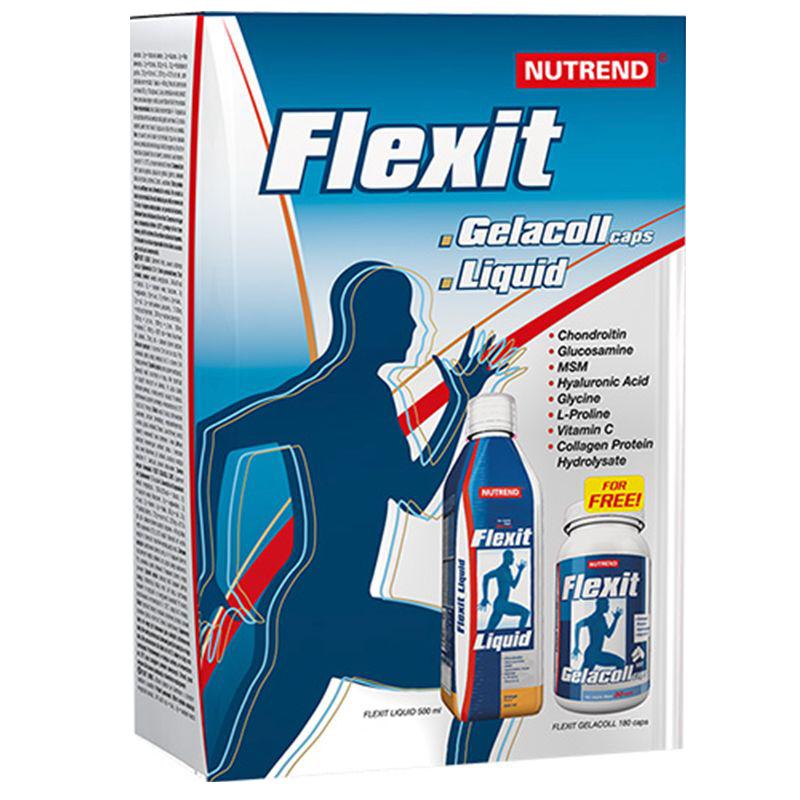 Nutrend Flexit Liquid + Gelacoll Stack set