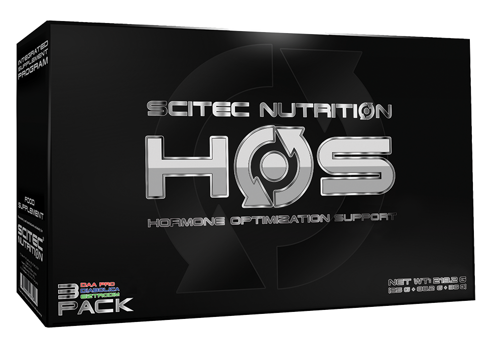 Scitec Nutrition HOS: Hormone Optimization System 250 caps.