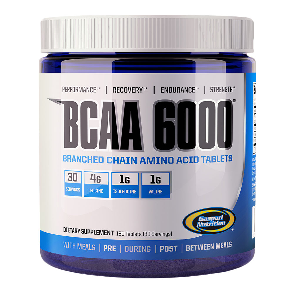 Gaspari Nutrition BCAA 6000 180 tab.