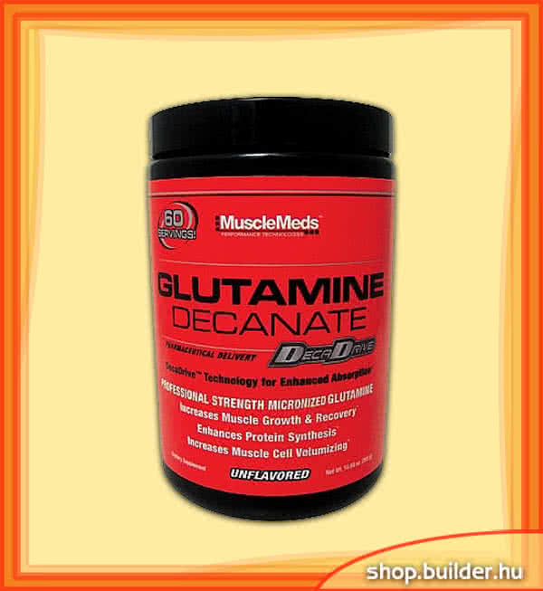 MuscleMeds Glutamine Decanate 300 gr.