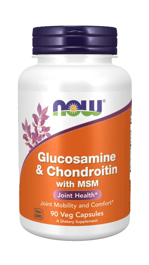Now Foods Glucosamine & Chondroitin with MSM 90 caps.