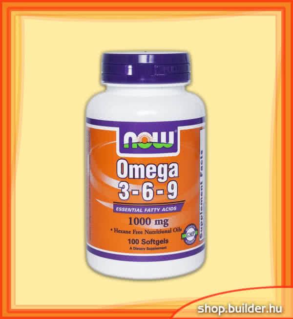 Now Foods Omega 3-6-9 100 g.k.