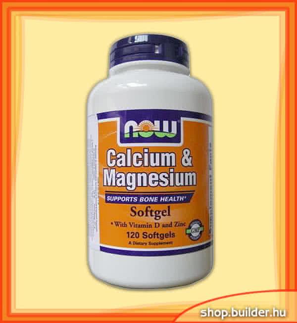 Now Foods Calcium & Magnesium 120 g.k.