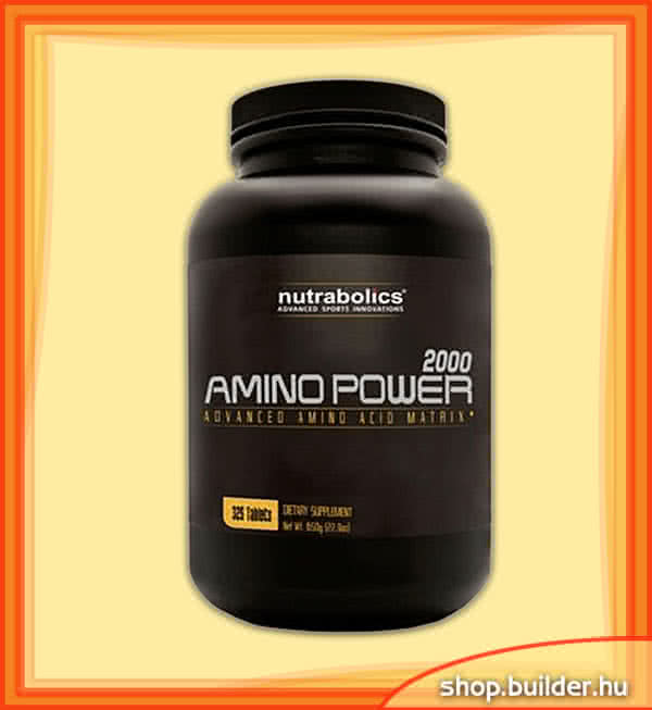 Nutrabolics Amino Power 2000 325 tab.