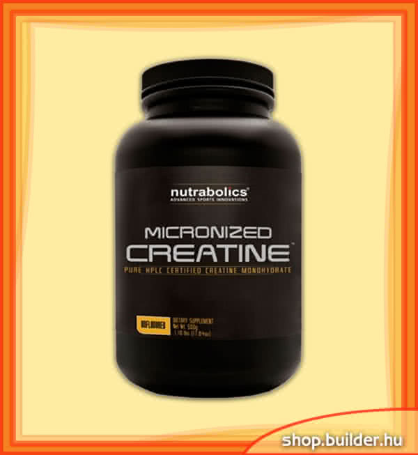 Nutrabolics Micronized Creatine 500 gr.