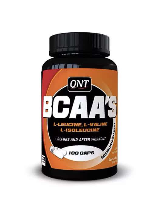 QNT BCAAs 100 caps.