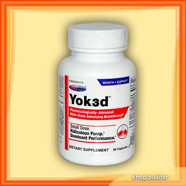 USP Labs Yok3d 90 caps.