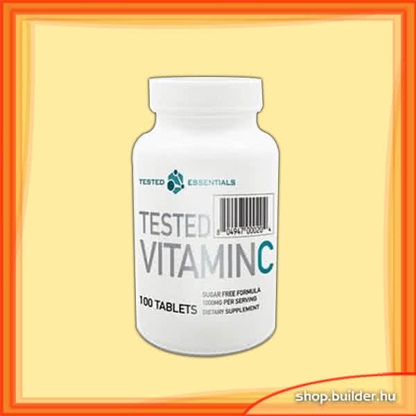 Tested Nutrition Tested Vitamin C 100 tab.