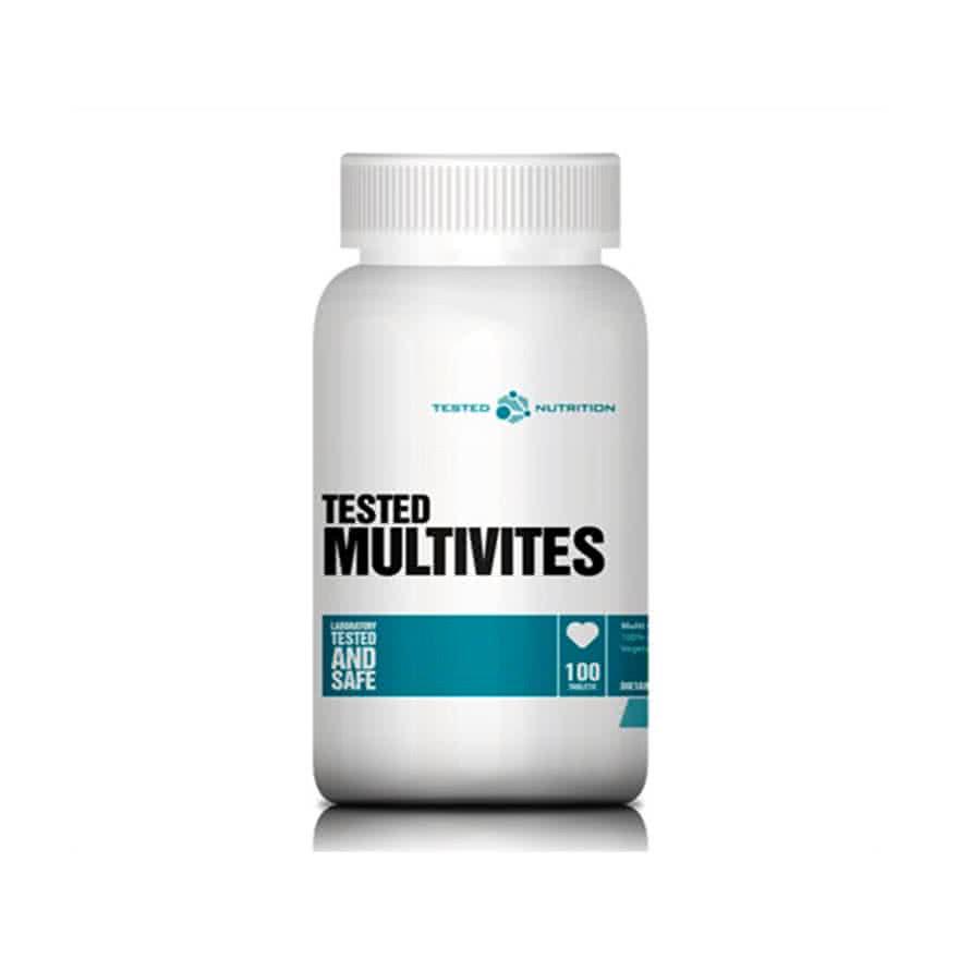 Tested Nutrition Tested Multivites 100 tab.