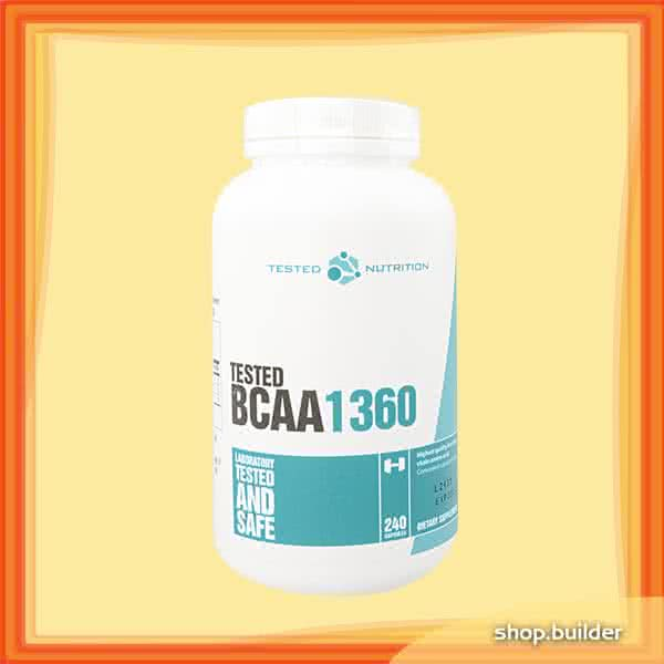 Tested Nutrition Tested BCAA 1360 240 caps.