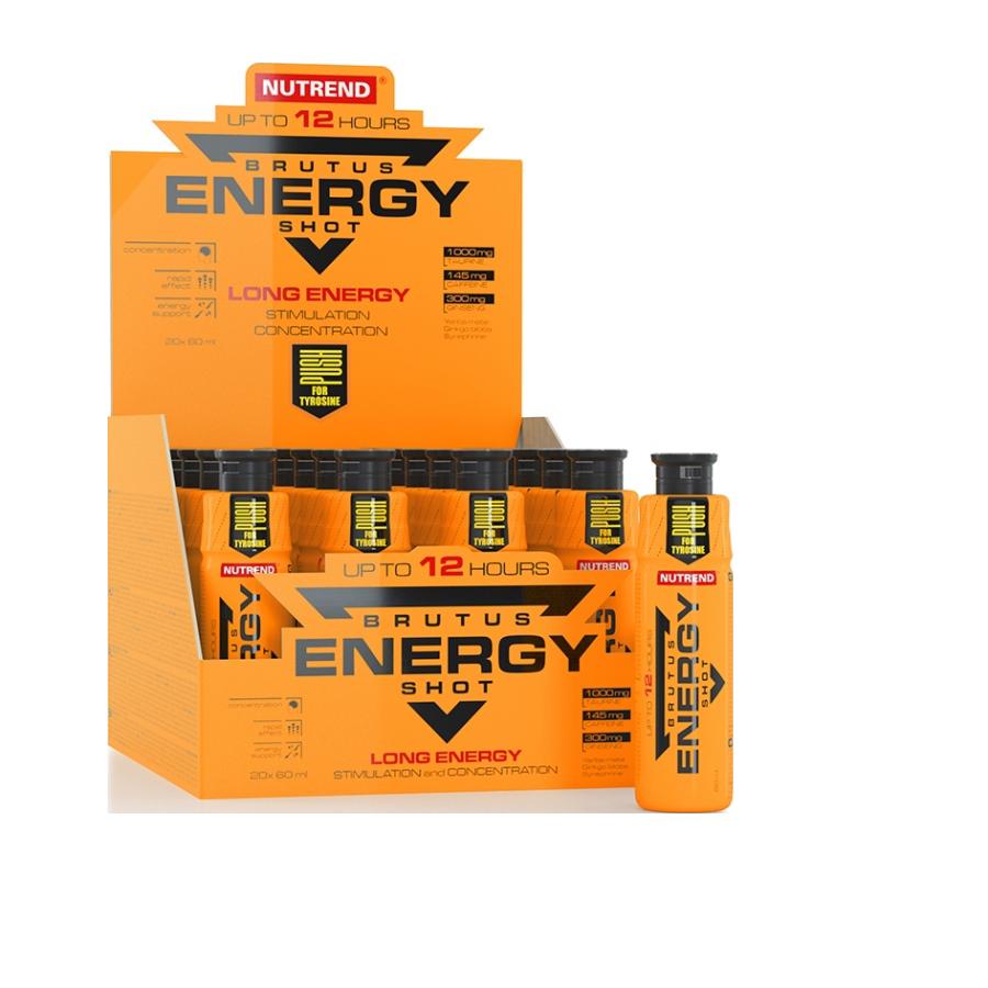 Nutrend Brutus Energy Shot 20x60 ml