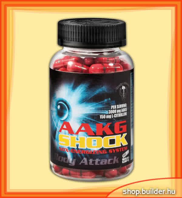 Body Attack AAKG Shock 80 caps.