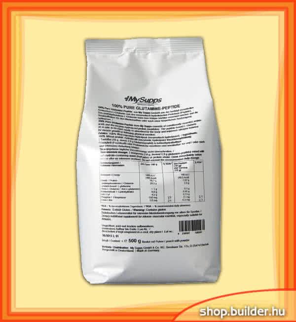 MySupps 100% Pure Glutamine Peptide 500 gr.