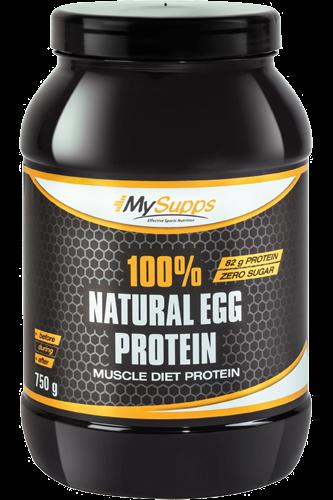MySupps 100% Egg Protein 0,75 kg