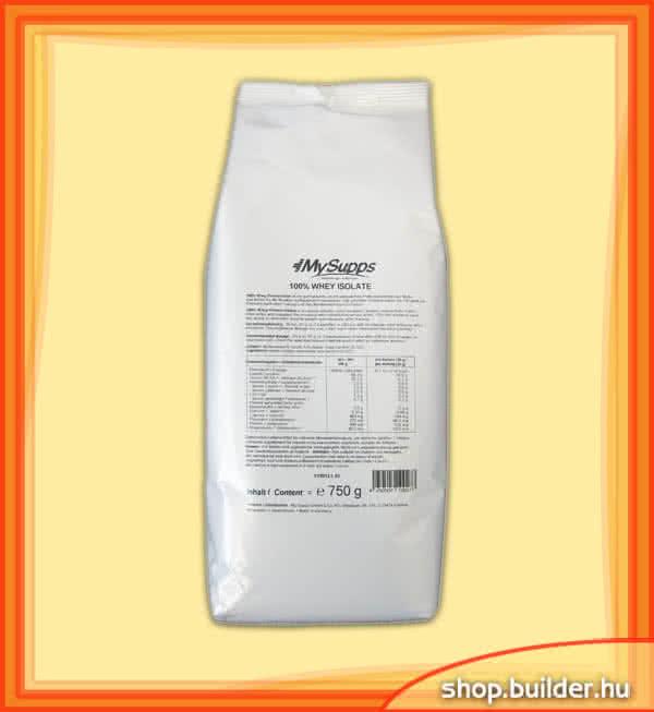 MySupps 100% Whey Isolate 0,75 kg