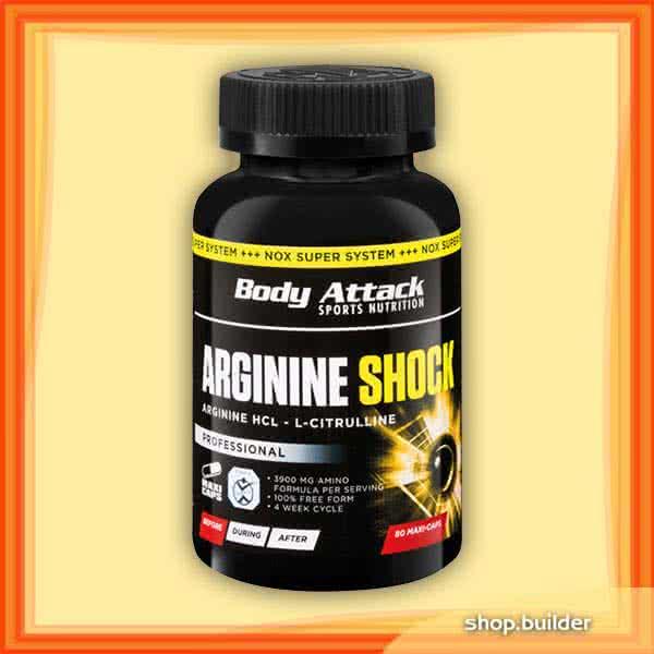 Body Attack Arginine Shock 80 caps.