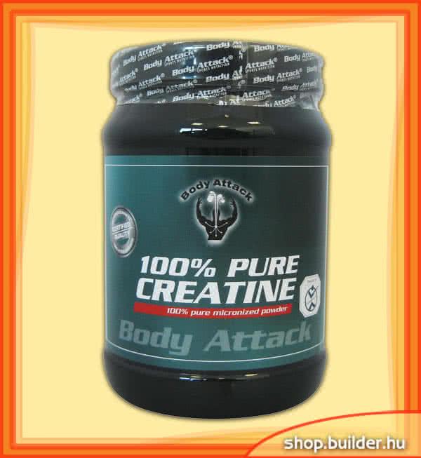 Body Attack 100% Pure Creatine Powder 500 gr.