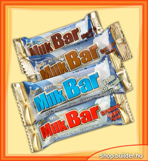 Body Attack Milk Bar 35 gr.