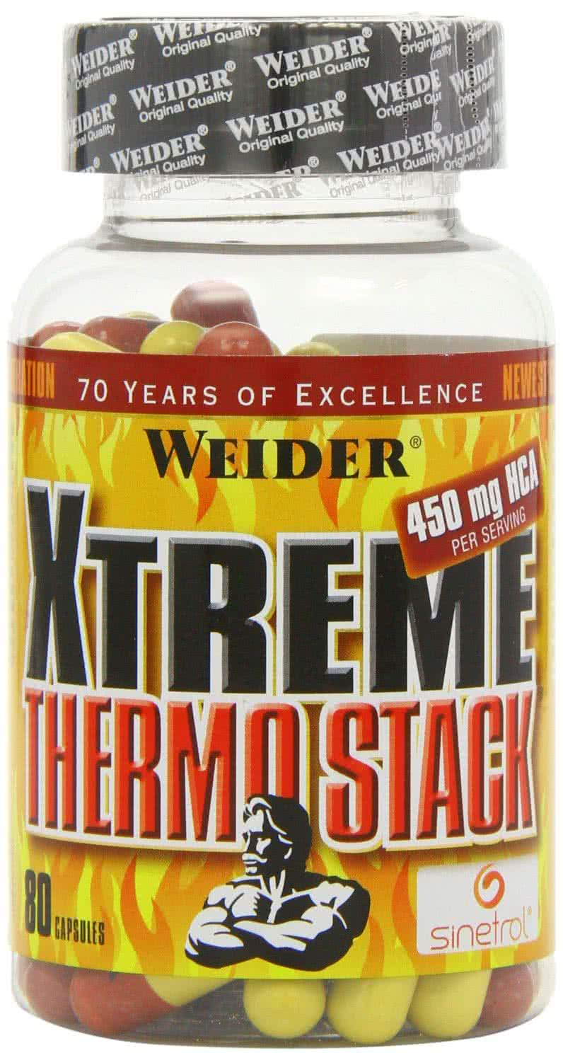 Weider Nutrition Xtreme Thermo Stack 80 caps.