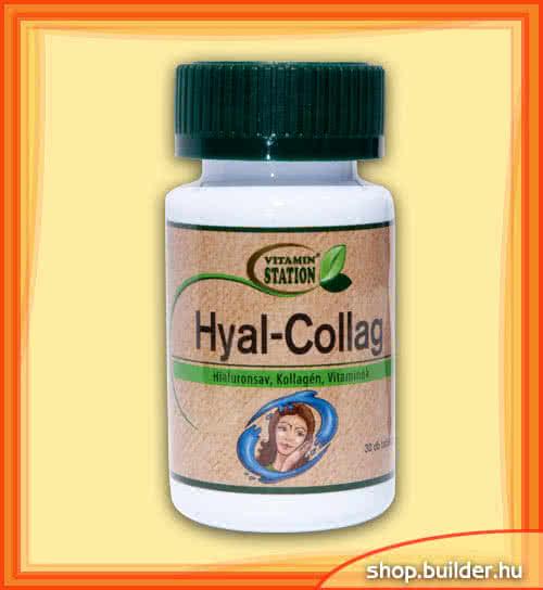 Vitamin Station Hyal-Collag 30 tab.