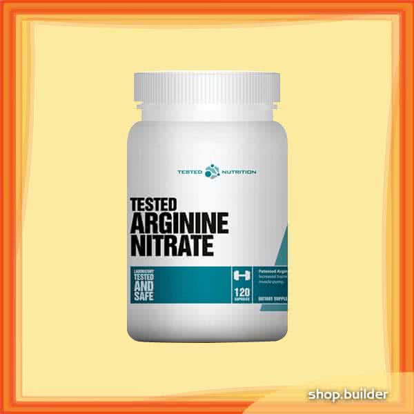 Tested Nutrition Tested Arginine Nitrate 120 caps.